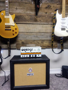 ORANGE TINY TERROR WITH MATCHING ORANGE PPC112 CAB