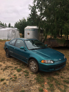 1995 Honda Civic Si - Reliable, clean commuter car