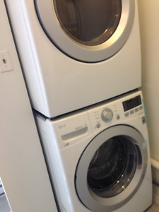 Laveuse sécheuse frontale LG 2017 Front Load Washer Dryer