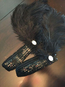 FEATHERS BOA & HEAD BANDS
