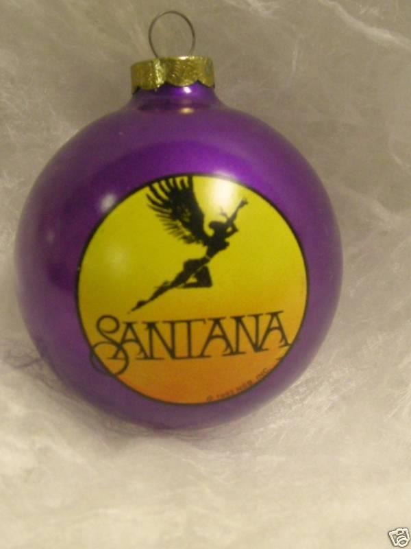 SANTANA Ornament 1993 Santa