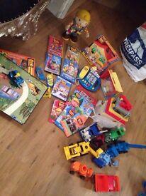 Amazing bob the builder bundle ( inc new items )