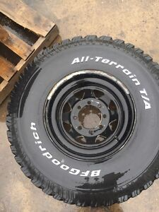 """Set of 4 BFG all-terrain t/a 35""""x12.5 R16.5 with rims"""