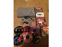 Sony ps1 bundle with games tetro