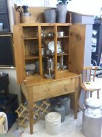 Rustic Cedar & Puritan Pine WorkTable and Cupboard P956,498,9