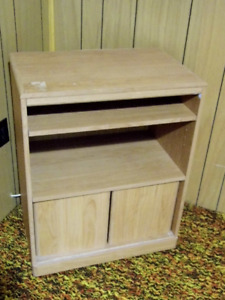 TV STAND , WITH BOTTOM CABINET