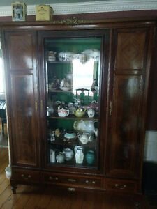 Antique LouisXV display cabinet