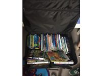 Suitcase full of kids books