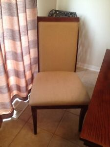 4 solid wood chairs for $100.00 Oakville / Halton Region Toronto (GTA) image 1