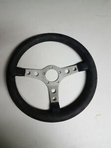 VINTAGE GRANT 14 INCH LEATHER STEERING WHEEL