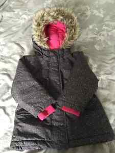 GIRLS ROOTS WINTER JACKET SIZE 3T