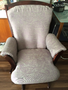 Dutailier Glider - Reupholstered then never used