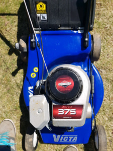 Victa  lawnmower with bag