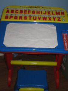 KIDS DESK & STOOL