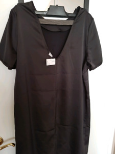 H&M Black dress size 14 (brand new with tag)