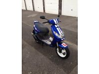 2003 Peugeot vivacity 100cc , fresh 12 months MOT , great condition for its age