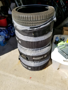 Michelin Pilot Sport staggered tires