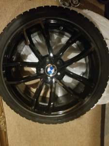 Bmw 5series G 30 (2017 -2019) 19 inch rims and winter tires