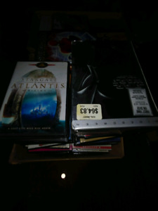 2 boxes of dvd