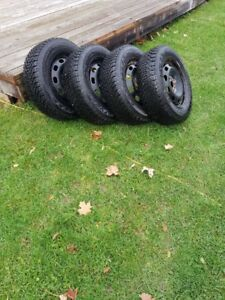 Goodyear Snow Tires and Rims for Sale