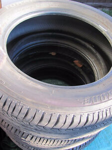 Set of Four, 175/65 R 15, M & S, Bridgestone Tires,Lots of tread Prince George British Columbia image 9