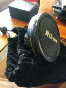 Nikon wide-angle wc-e63