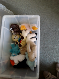 Old soft toys maybe suitable for pets 20p each