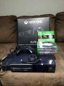 Xbox One 1TB Elite console plus Halo package and bonus games