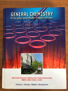 Chem 1000/1001/1500 York University Textbook