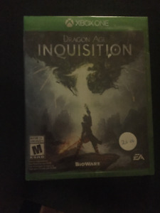 BRAND NEW -FACTORY SEALED - Dragon Age Inquisition  -Xbox One