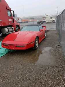 *REDUCED* 1987 Chevrolet Corvette Convertible  46,000km