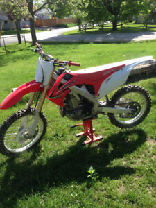 hardly used 2012 CRF450R for sale or boat