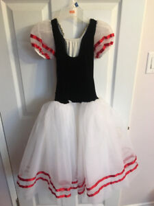 Black/White Dance outfit size: Large Child