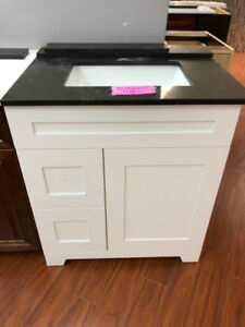 showroom vanities on SALE!! various sizes available!!