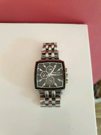 Police Gents Watch - Large Face (Lovely Condition)