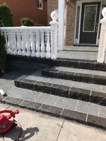 JewelStone Porch Resurfacing / Concrete repair / parging