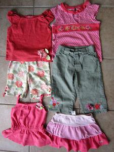 Gymboree Size 4-5 'Aloha Line' Mix and Match Outfits