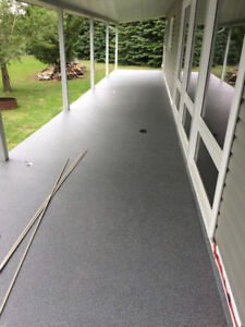 Finest make $7/SF brand new vinyl deck membrane supply and insta