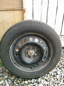 17' Chevy Uplander Tires with Rims