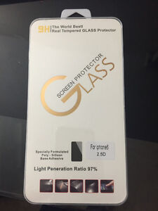 Real Tempered Screen Protector for IPHONE 6, 6plus, 7, and 7plu