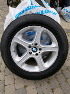 BMW TIRES AND RIMS FOR SALE