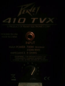 Selling 4x10 Peavey 410 TVX Bass Cab