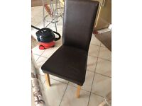 Free dining chairs (x2)