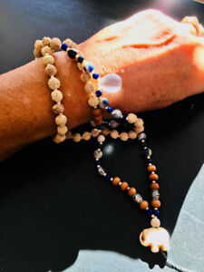 Handcrafted Mala beads made with high quality materials
