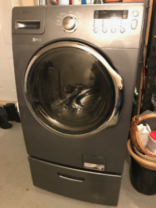 Handy? Samsung Front Load Washing Machine and Pedestal for Sale