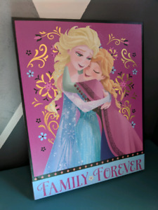 Frozen Elsa and Anna canvas picture