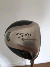 Taylormade R540 Driver 10.5 loft