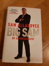 Sam Allardyce 'Big Sam' Autobiography Book