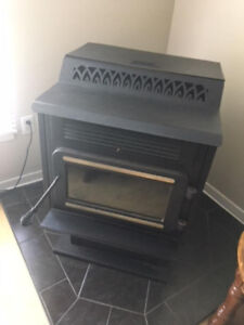 Pellet stove for sale. Hardly used.