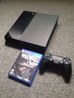 PS4 1 controller, 2 games